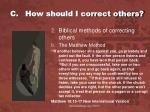 c how should i correct others2