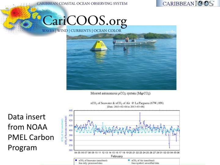 Data insert from NOAA PMEL Carbon Program