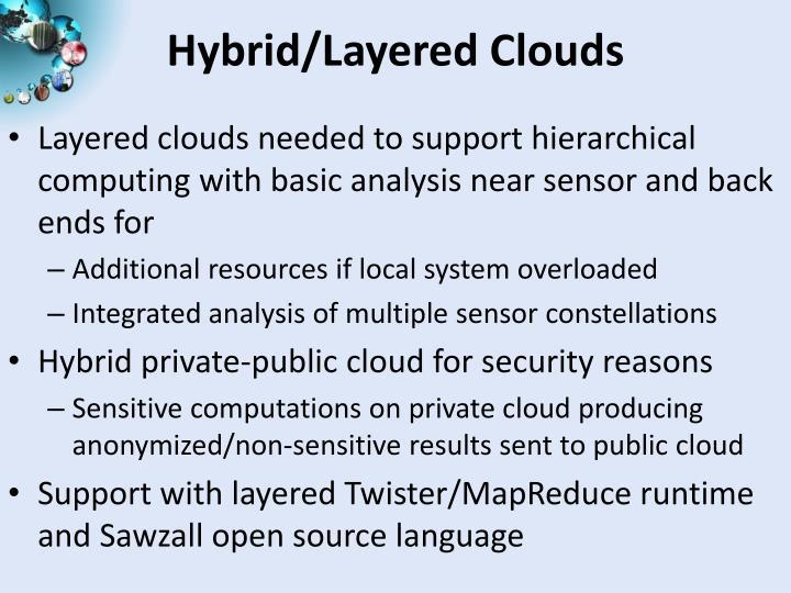 Hybrid/Layered Clouds