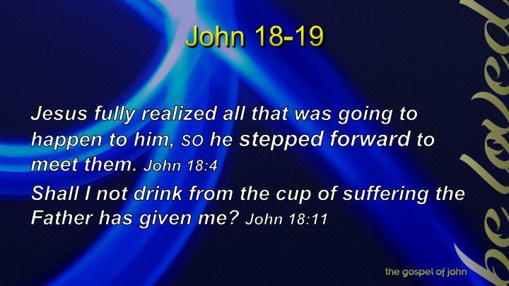 John 18 19
