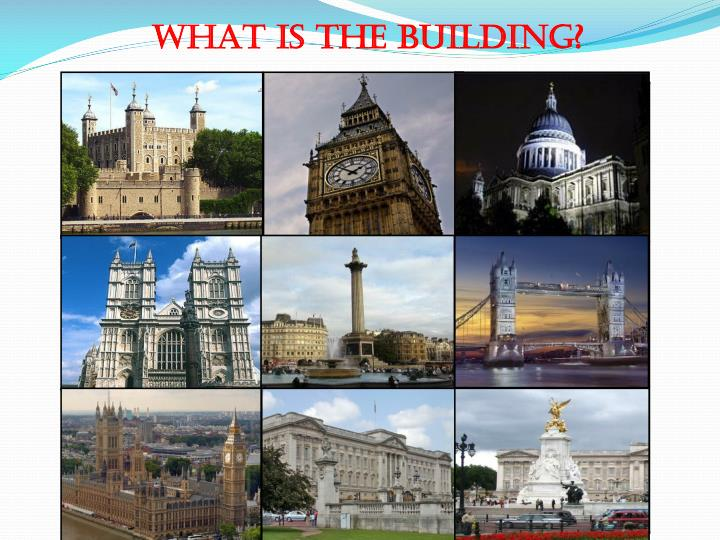 WHAT IS THE BUILDING?