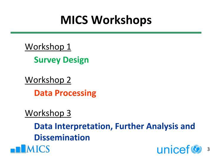 Mics workshops1
