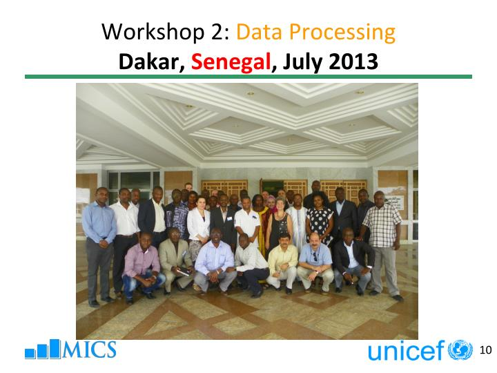 Workshop 2:
