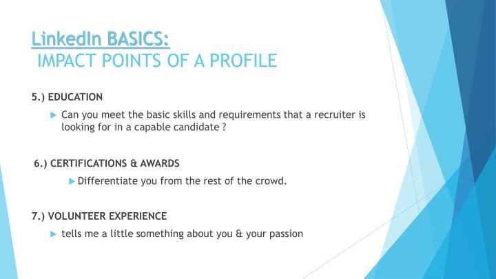 LinkedIn BASICS: