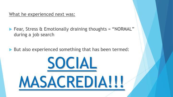 Social masacredia