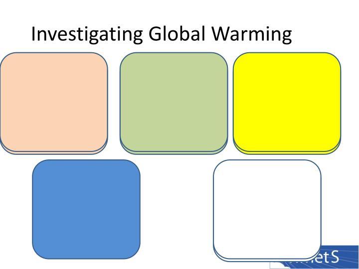 Investigating Global Warming