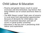 child labour education