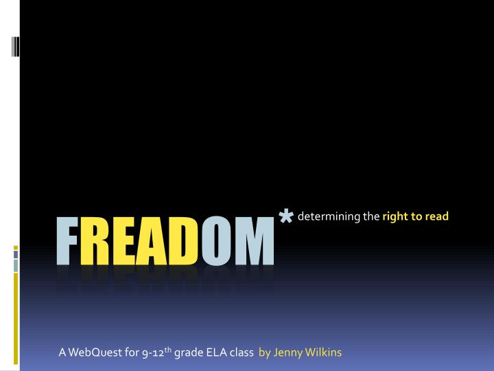 D etermining the right to read