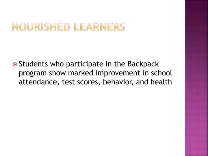 Nourished Learners