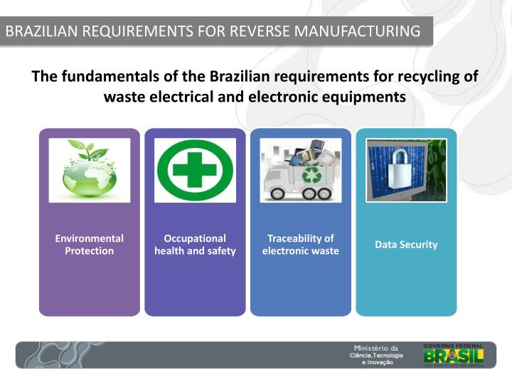 BRAZILIAN REQUIREMENTS FOR REVERSE