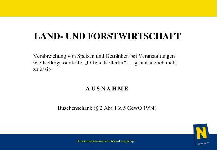 Land-