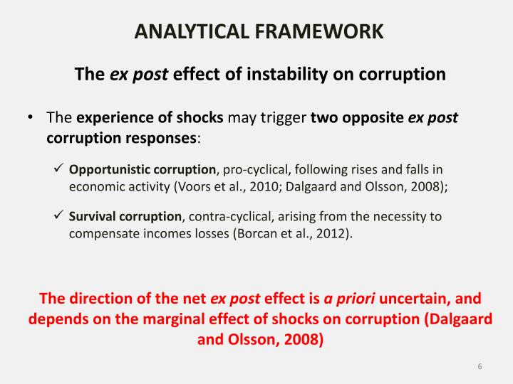 ANALYTICAL FRAMEWORK