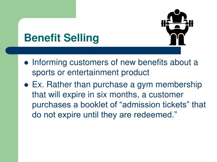 Benefit Selling