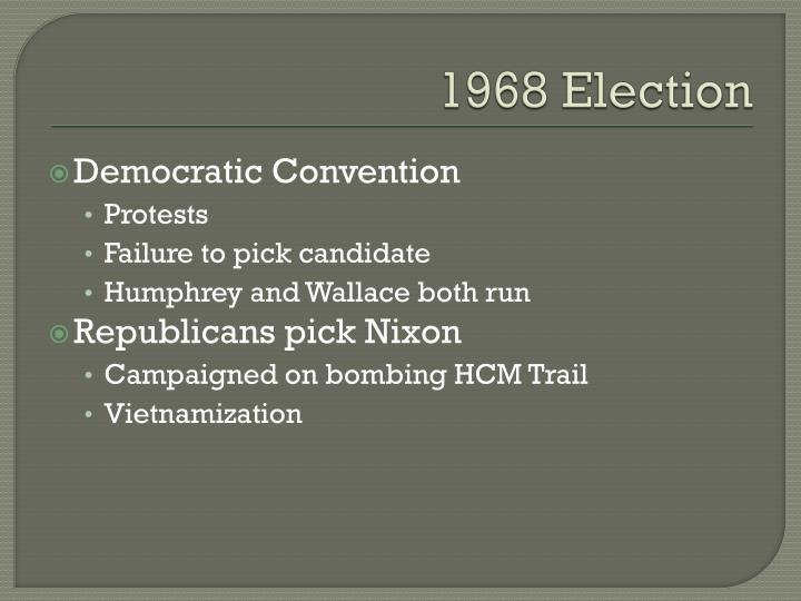 1968 Election