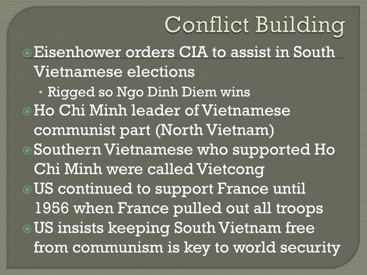Conflict building