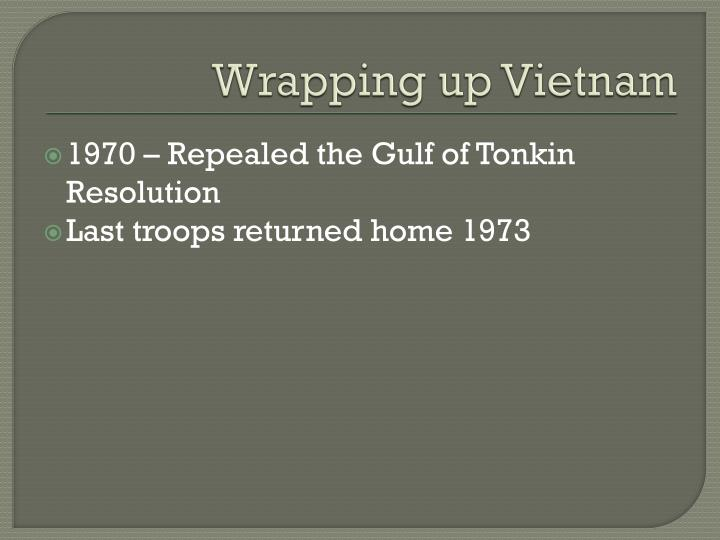 Wrapping up Vietnam