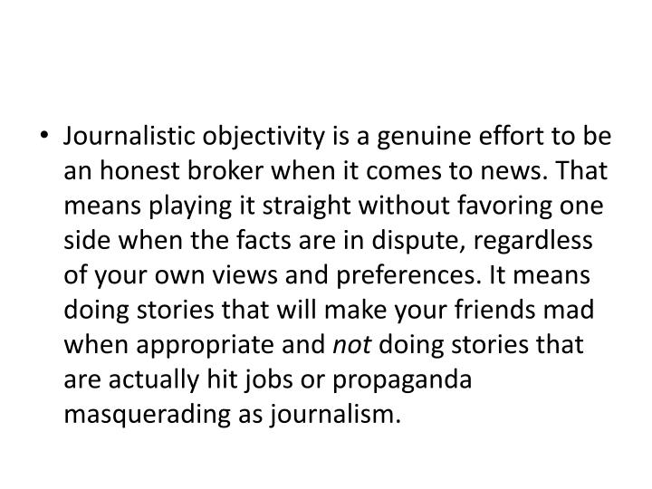 Journalistic