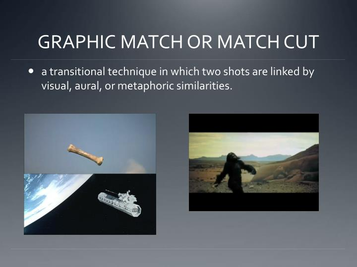 GRAPHIC MATCH OR MATCH CUT