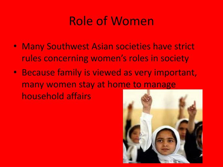 womens roles in society