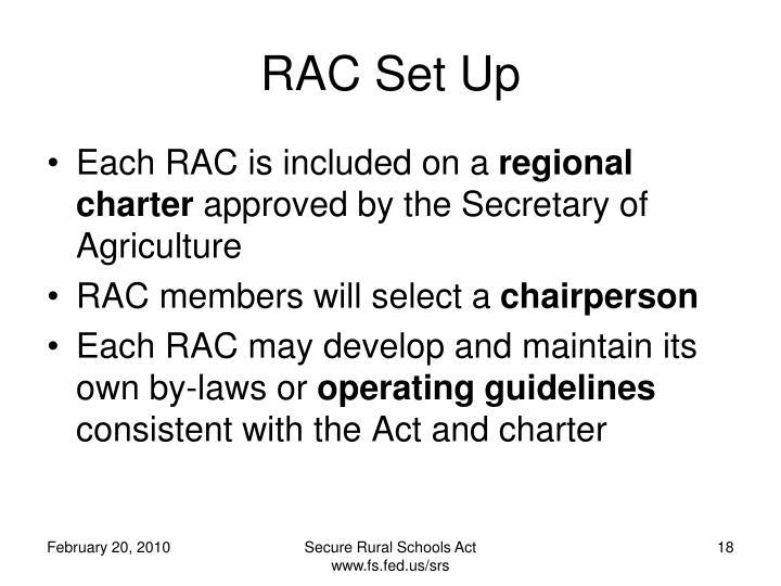 RAC Set Up