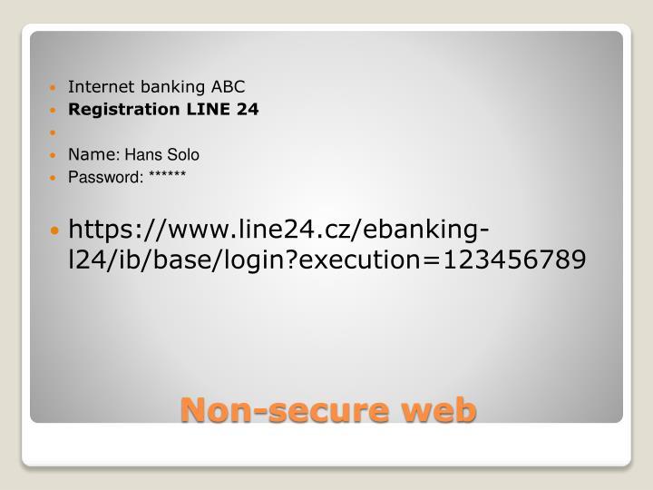 Internet banking ABC
