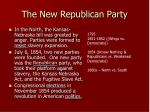 the new republican party