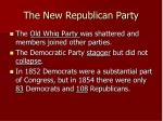 the new republican party1
