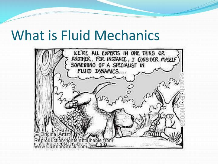 What is fluid mechanics