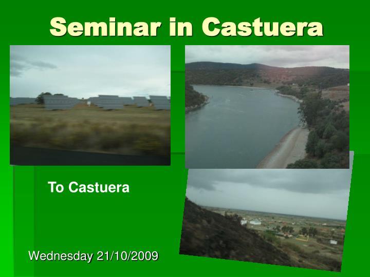 Seminar in castuera2