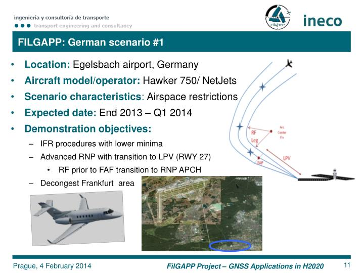 FILGAPP: German scenario #1