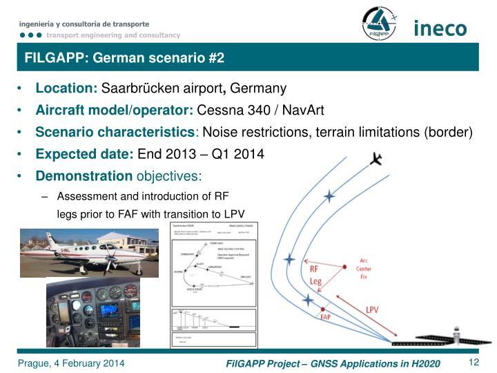 FILGAPP: German scenario #2