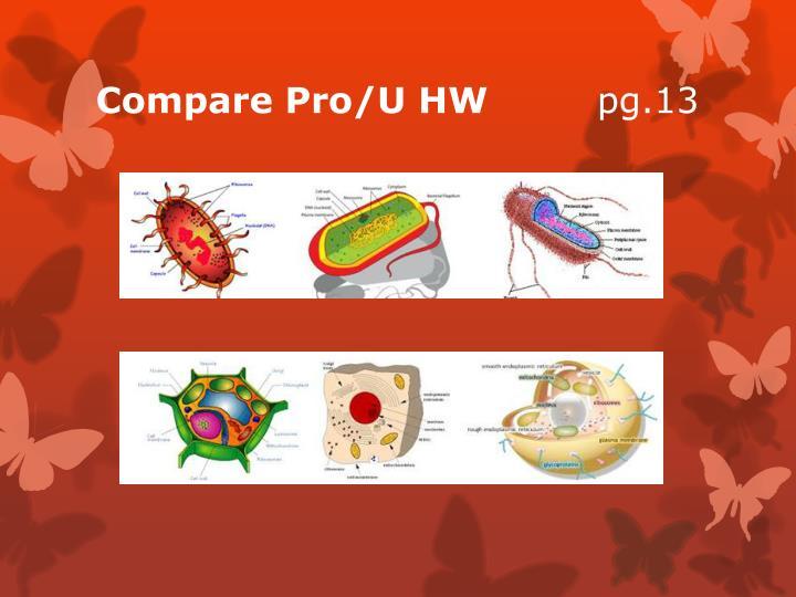 Compare Pro/U HW