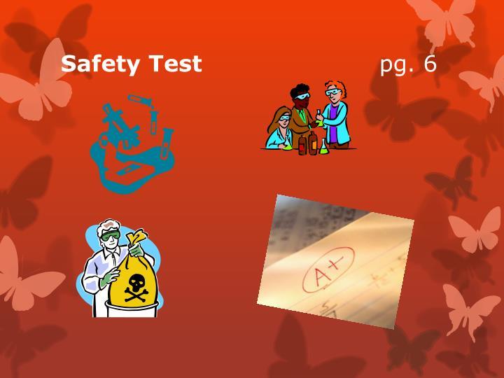 Safety Test