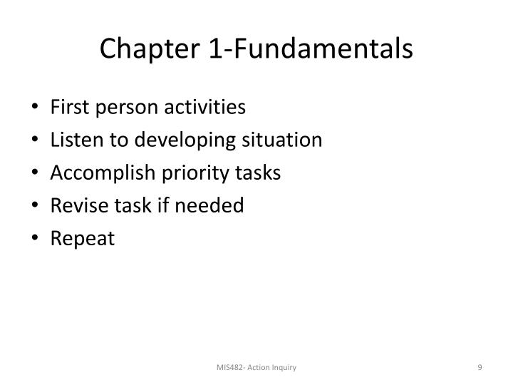 Chapter 1-Fundamentals