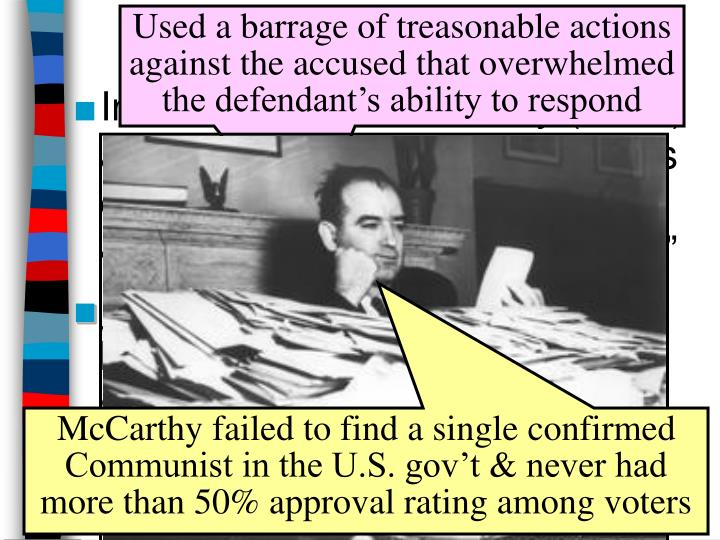 McCarthyism in Action