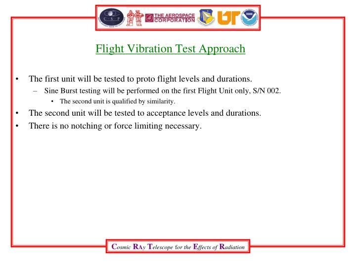 Flight Vibration Test Approach