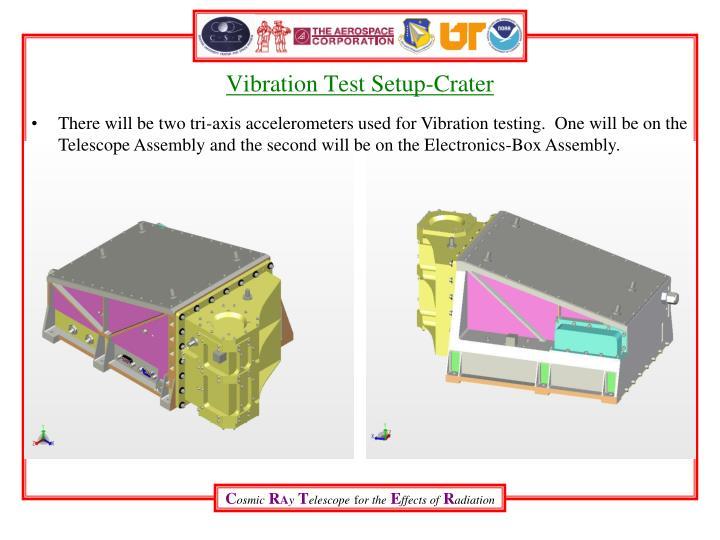 Vibration Test Setup-Crater