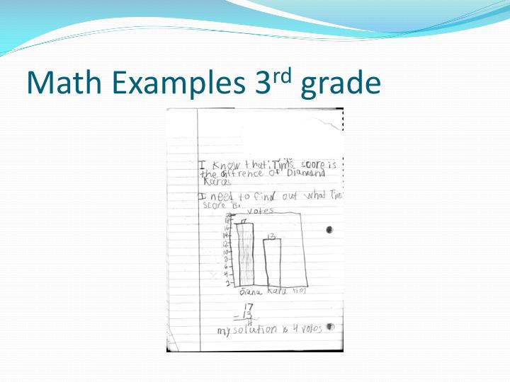 Math Examples 3