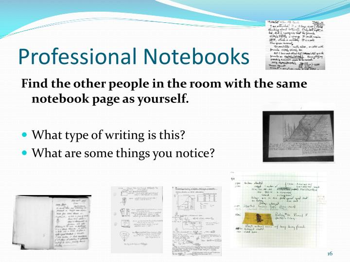 Professional Notebooks