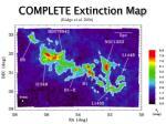 complete extinction map