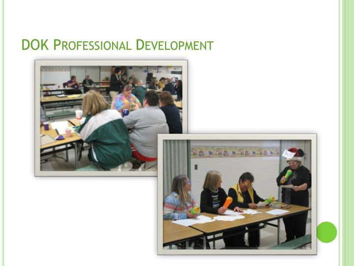 DOK Professional Development