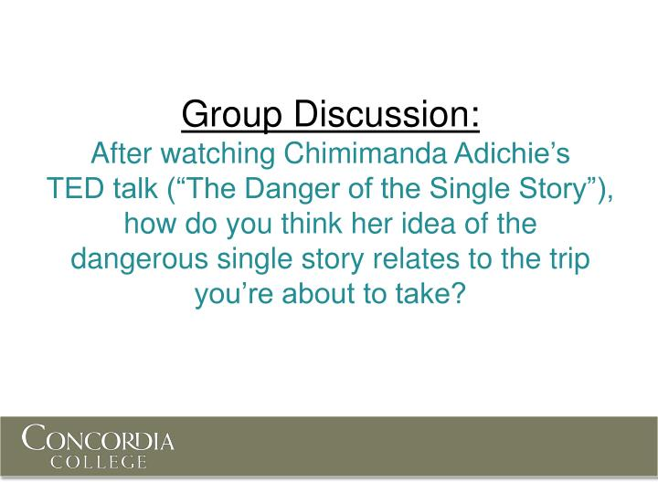 Group Discussion: