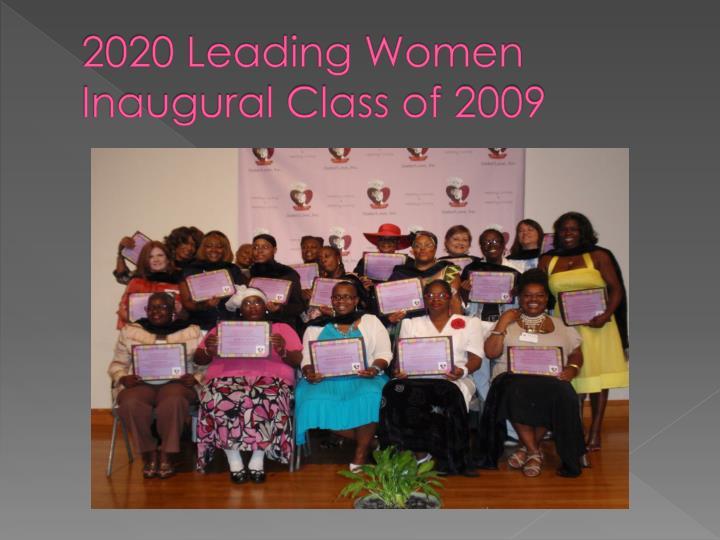 2020 Leading Women