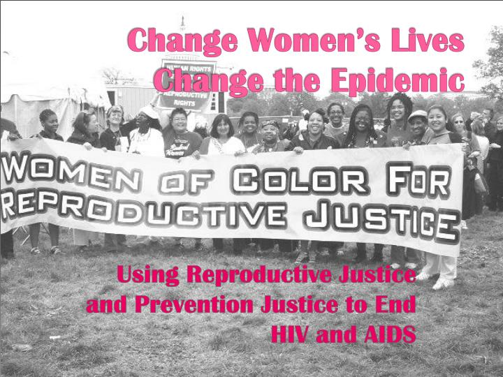 Change Women's Lives