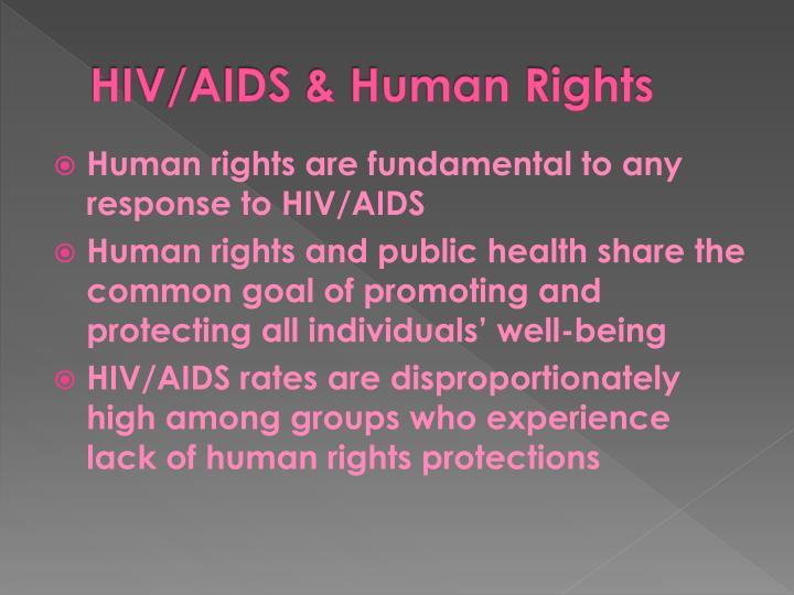 HIV/AIDS & Human Rights
