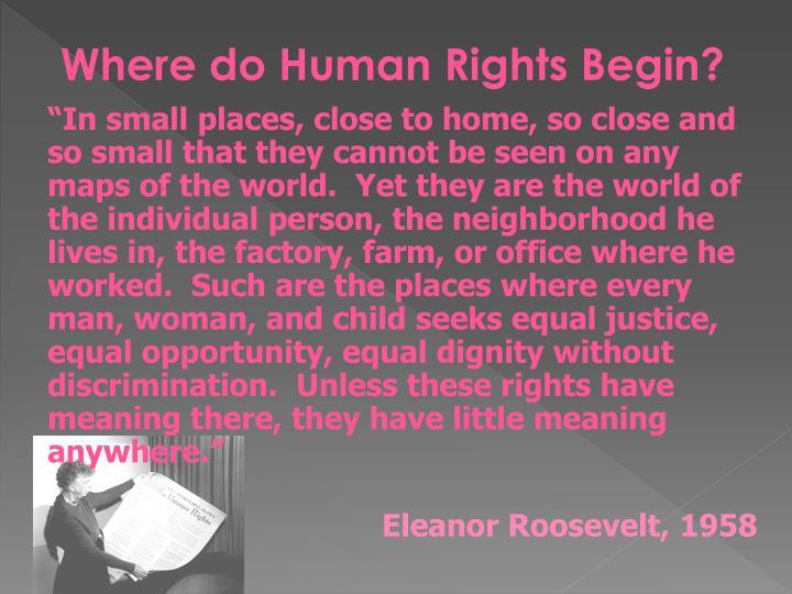 Where do Human Rights Begin?