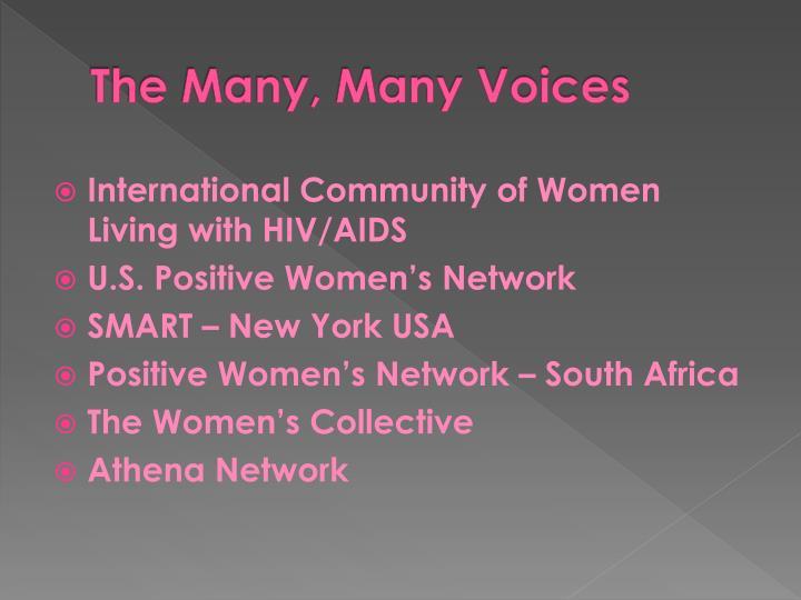 The Many, Many Voices