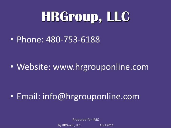 HRGroup, LLC