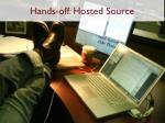 hands off hosted source
