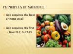 principles of sacrifice1